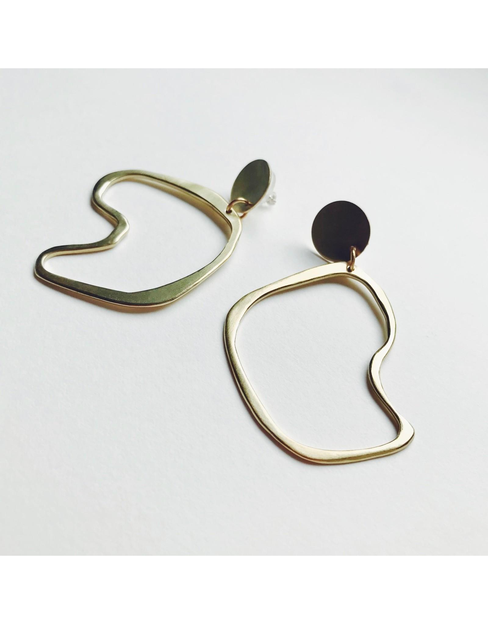 Hollow Lines Earrings