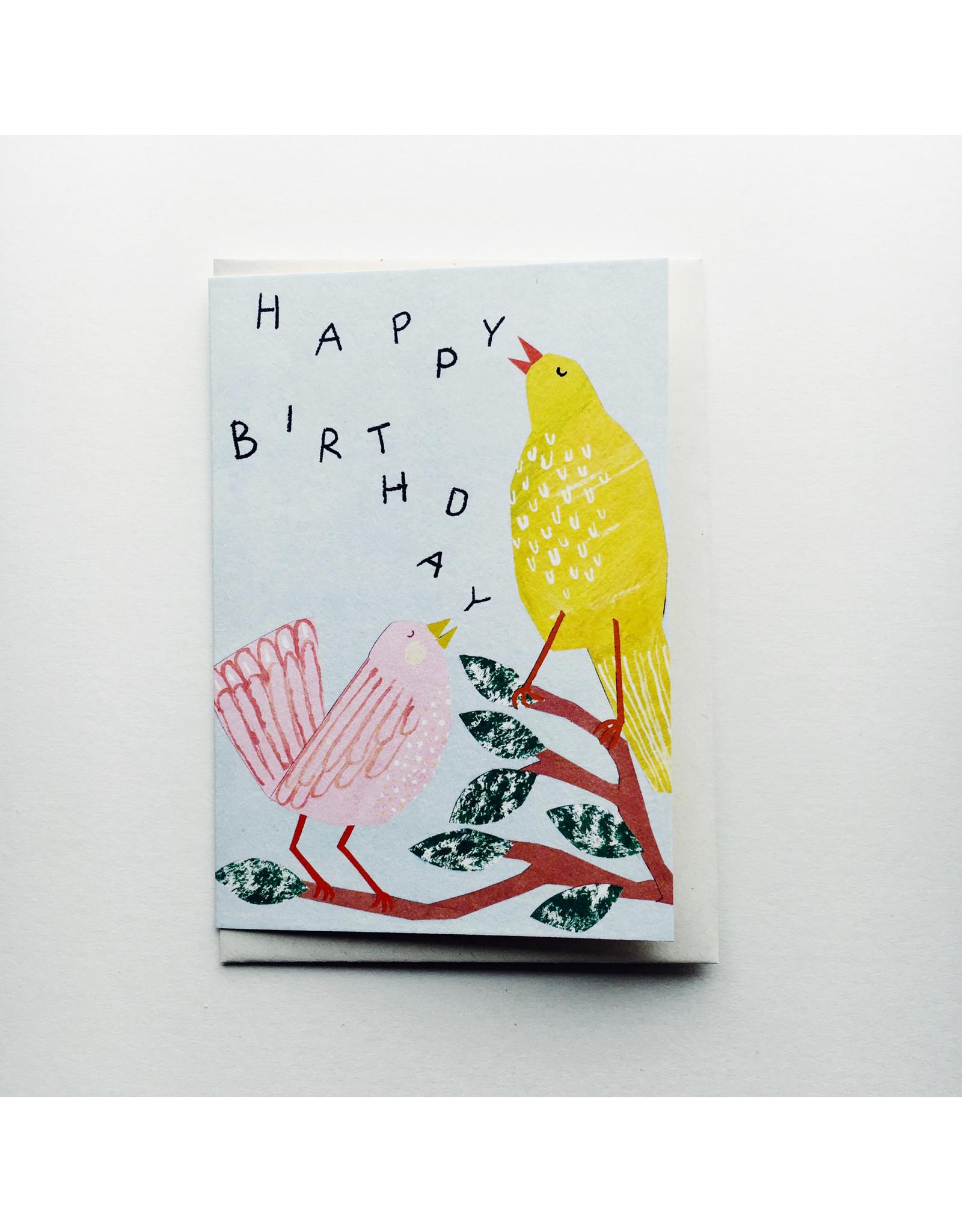 Birthday Birds card
