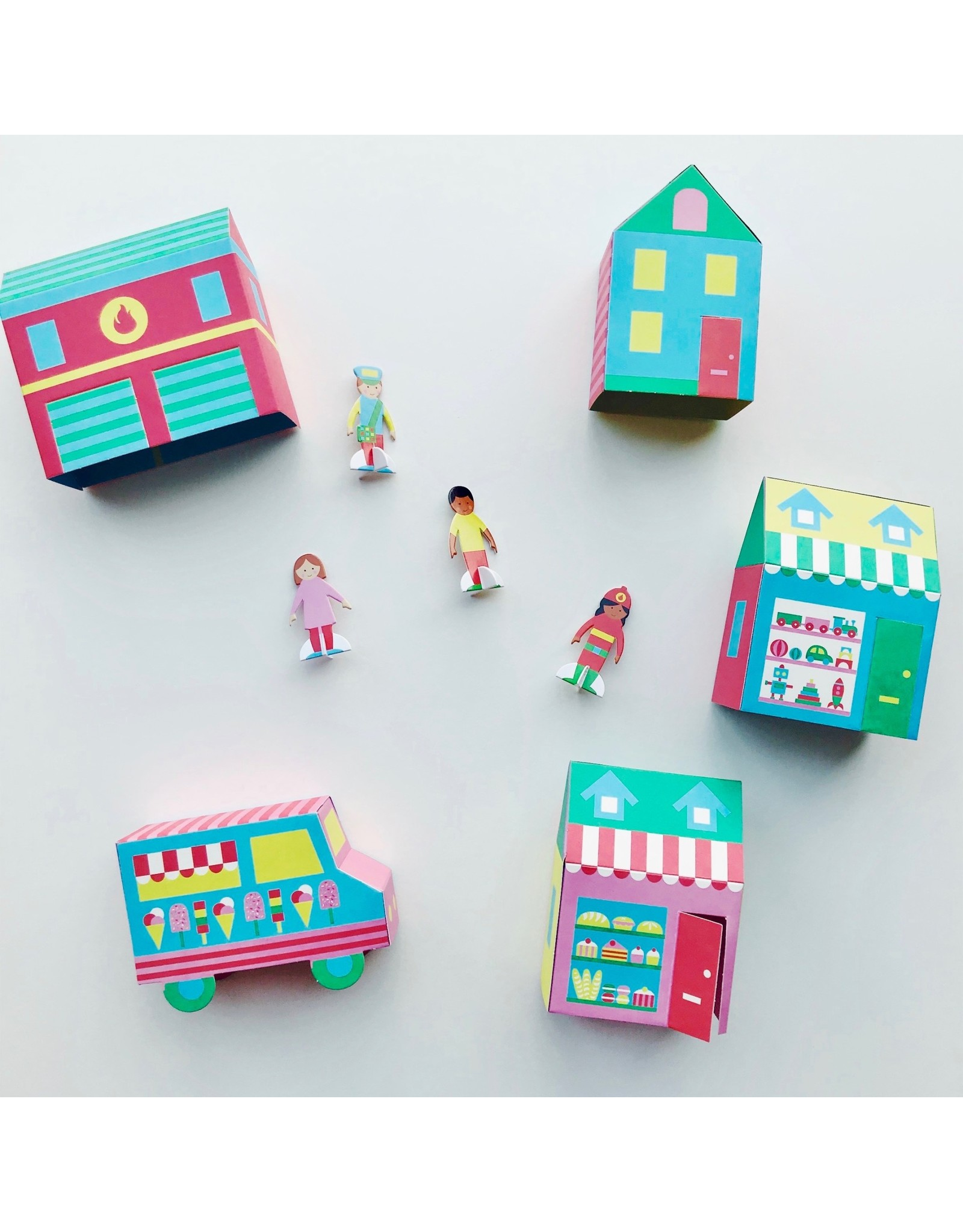 Make Your Own Town Craft Kit