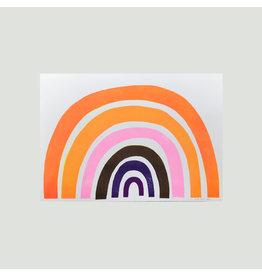 Rainbow A3 Risograph Print