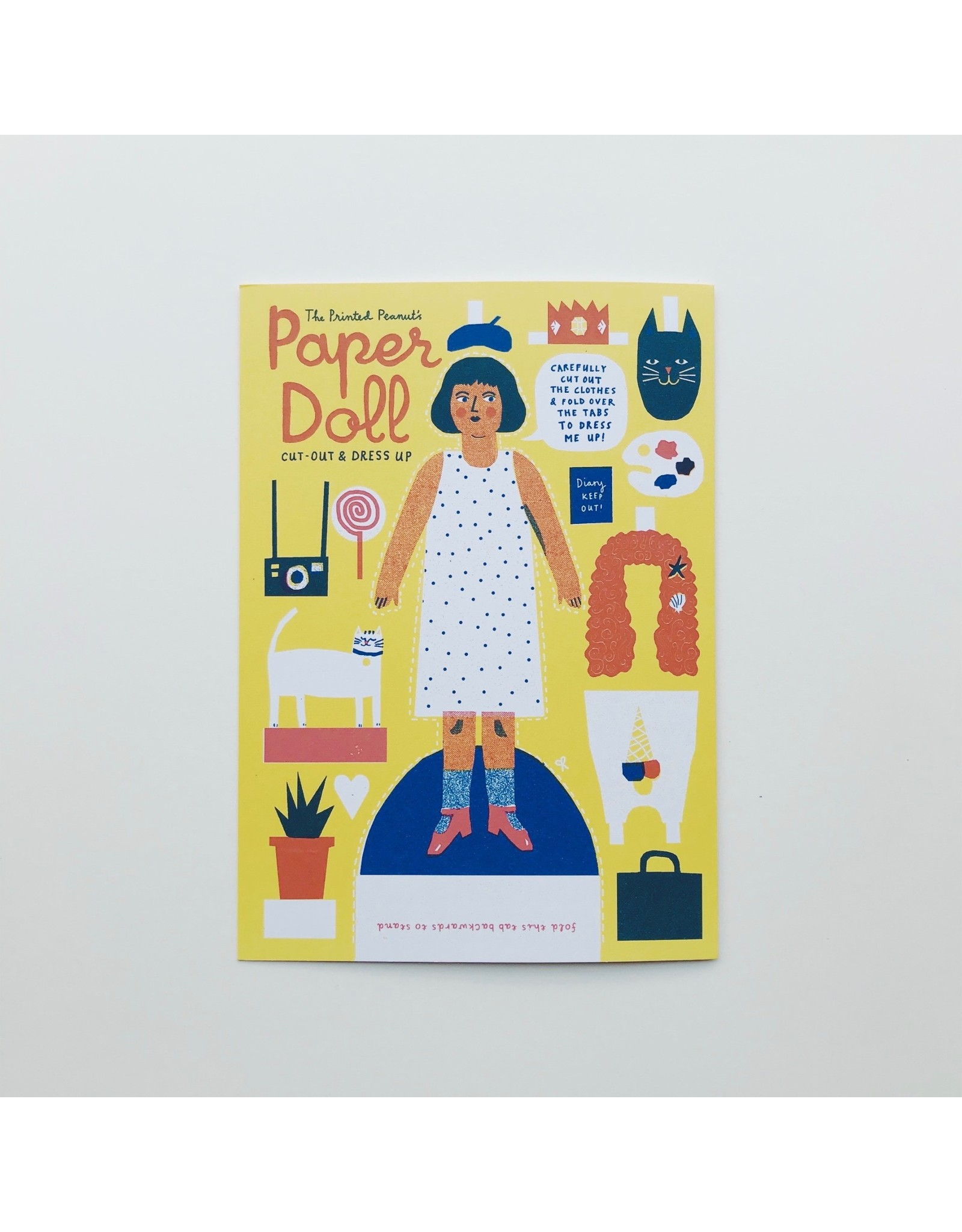 Cut Out & Dress Up Paper Doll