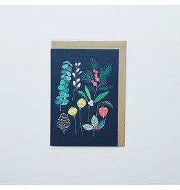 Winter Foliage Christmas Card