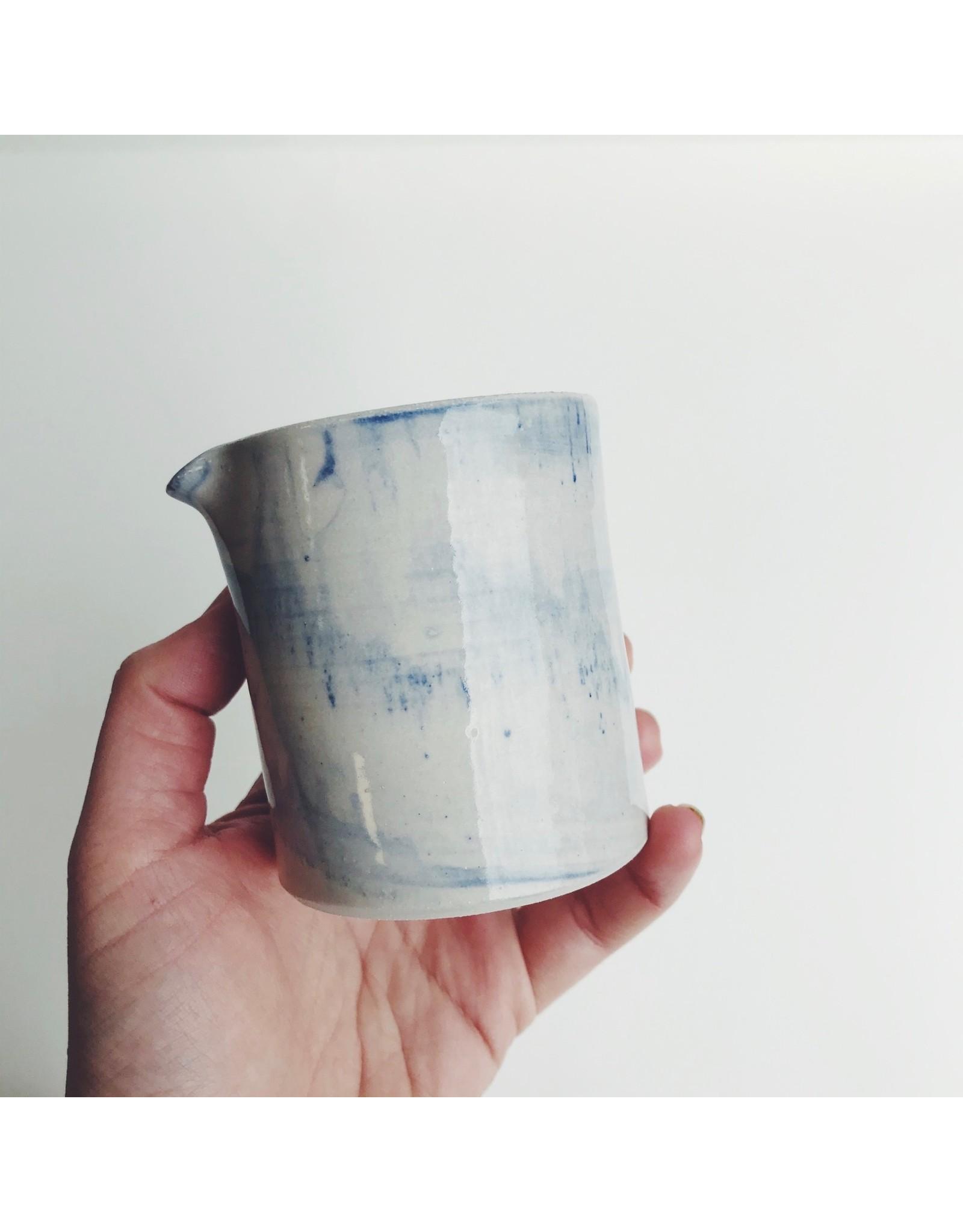 Blue Patterned Ceramic Jug