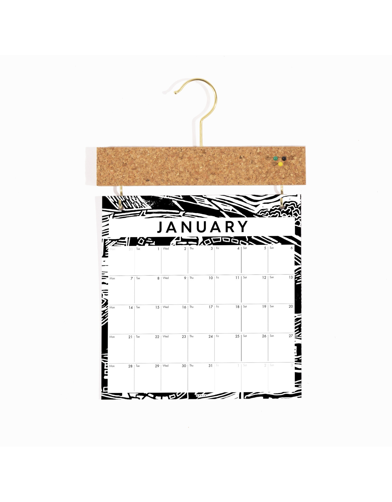 Pinboard Calendar