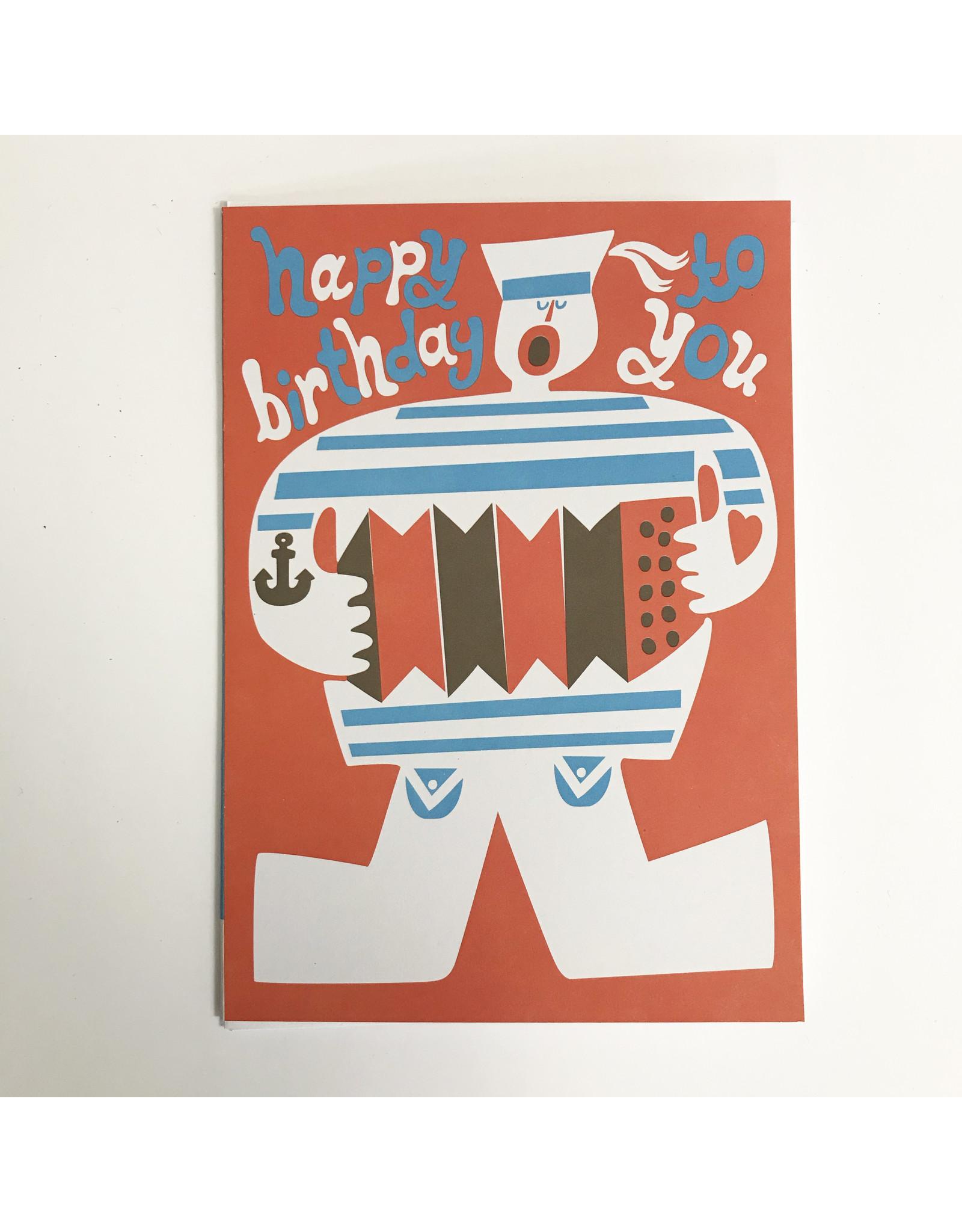 Sea Shanty Birthday Card