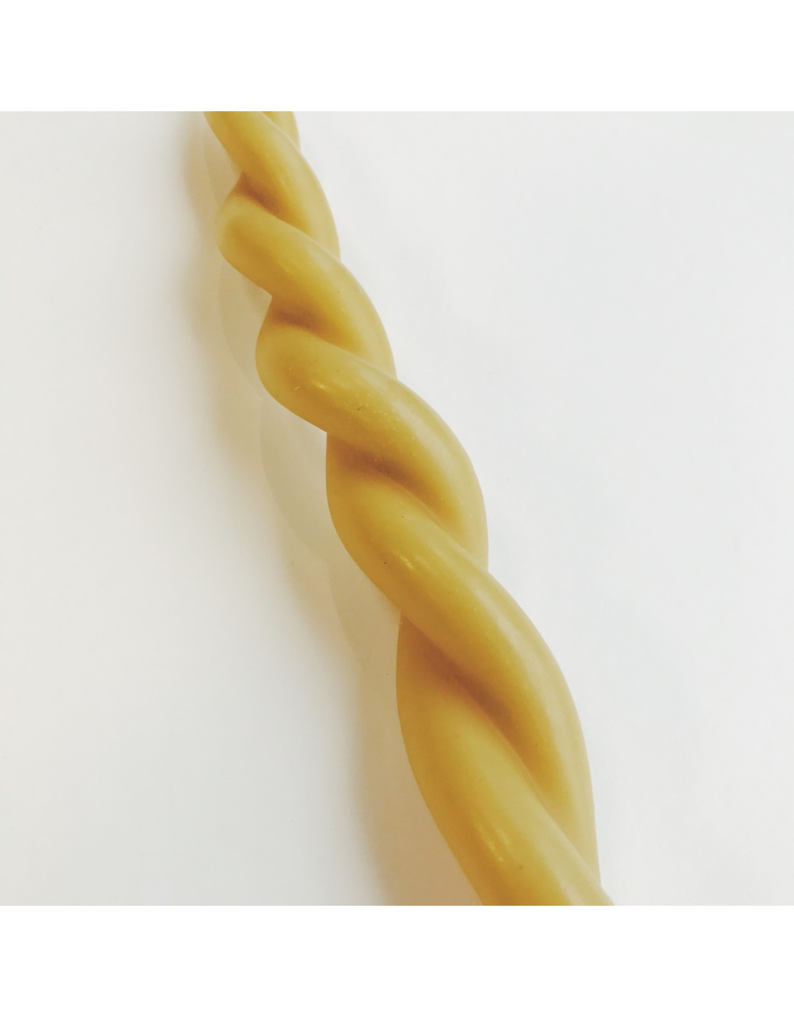 Twisted Candle Natural