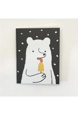 Ice Lolly Polar Bear Christmas Card