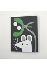 Mistletoe Mouse Card
