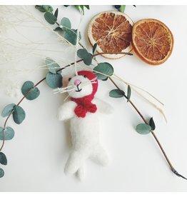 Festive Mouse Decoration