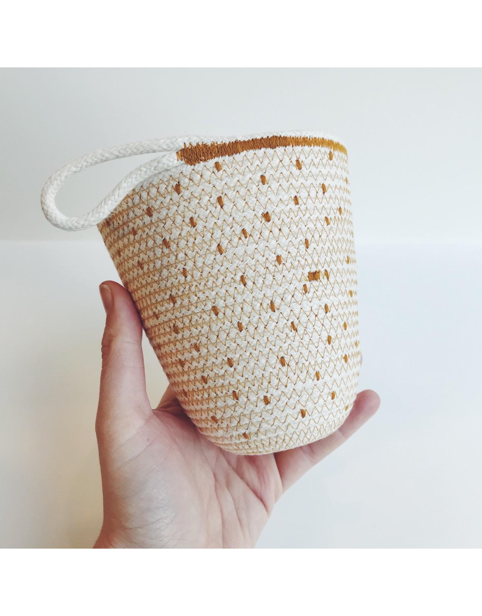 Flecked Rope Basket