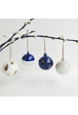 Hand Made Porcelain Bauble