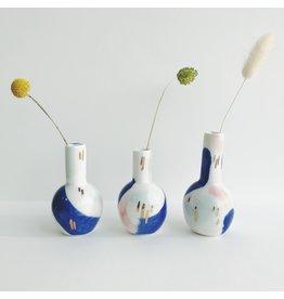 Small Ceramic Brushstroke Vase