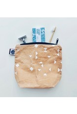 Waxed Canvas Wash Bag Medium