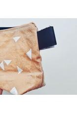 Waxed Canvas Wash Bag Small