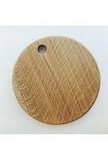 Round Oak Chopping Board
