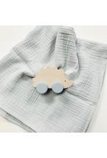Baby Gift Set Hedgehog + Muslin