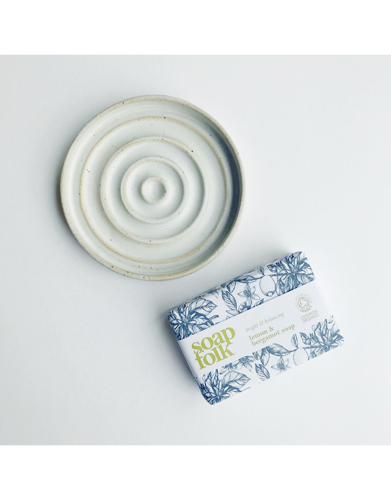 Letterbox Gift Set - Organic Soap & Dish