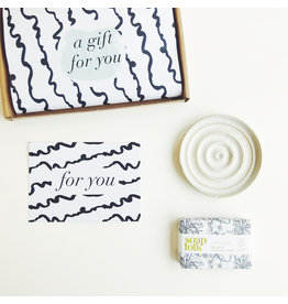 Letterbox Gift Set - Organic Soap & Dish