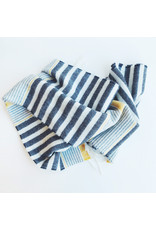 Lambswool Scarf Seaside Stripe