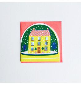 Snowglobe House Christmas Card