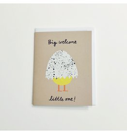 Big Welcome New Baby Card