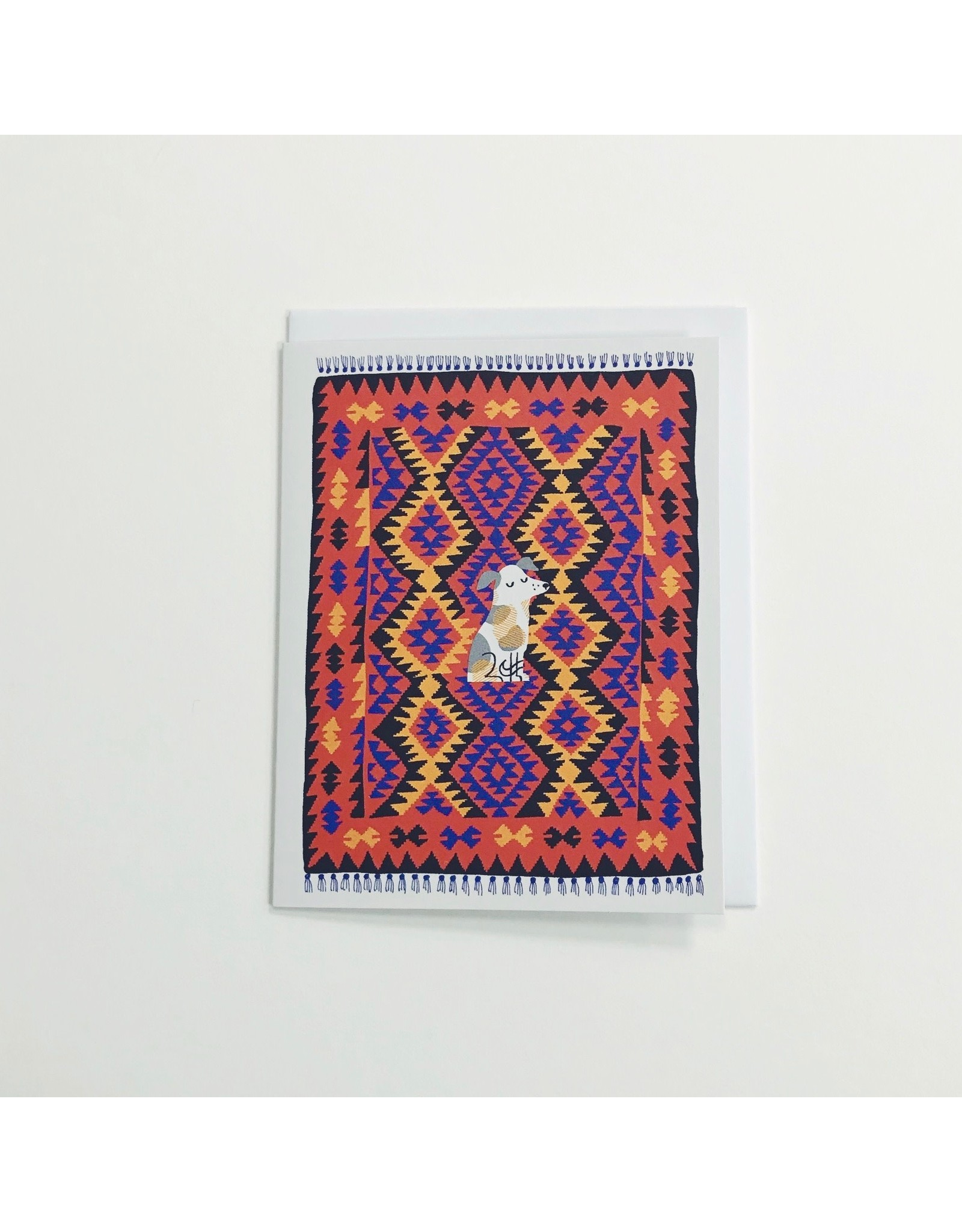 Nutmeg Dog Card
