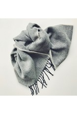Soft Lambswool Scarf Soft Grey