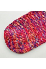 Recycled Cotton Socks Blue & Red