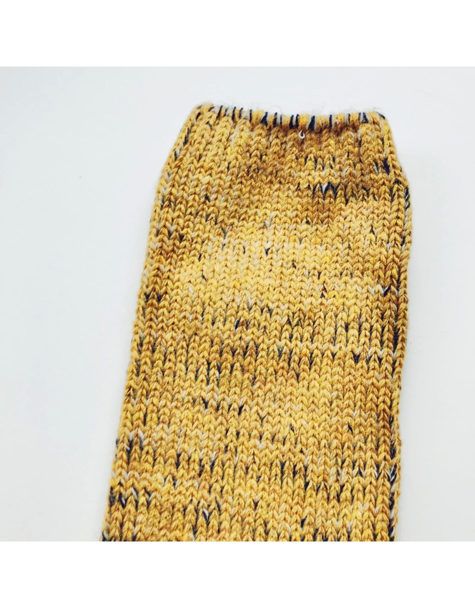 Woollen Socks Mustard  Size 3.5 - 6