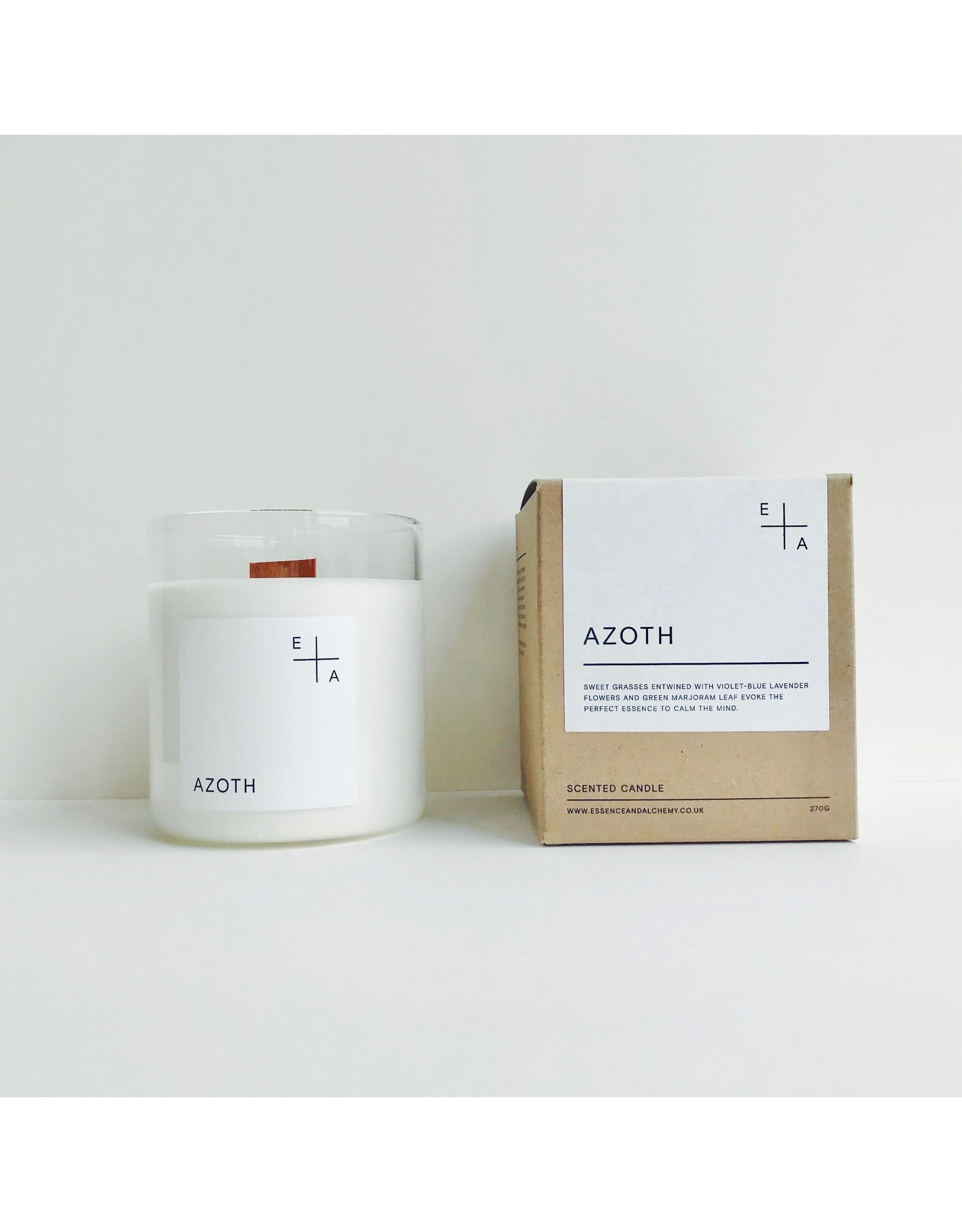 Botanical Scented Candle