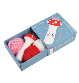 French Knitting Mushroom Kit