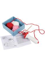 French Knitting Mushroom Kit