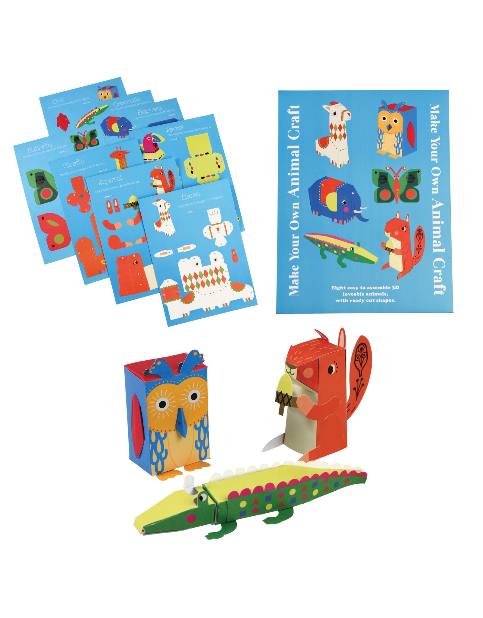 Make Your Own 3D Animals Kit