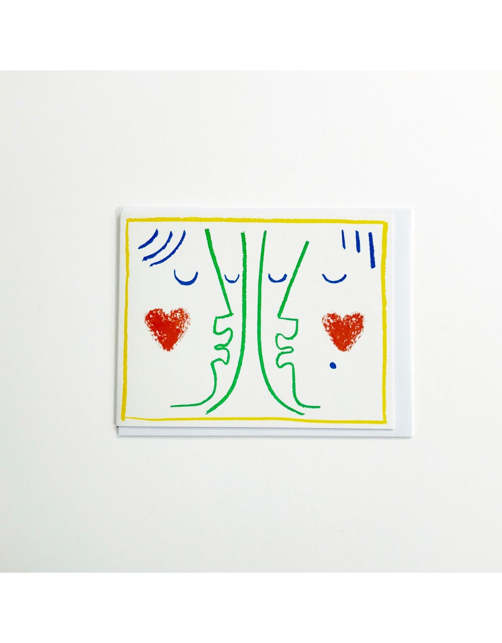 Kissing Card