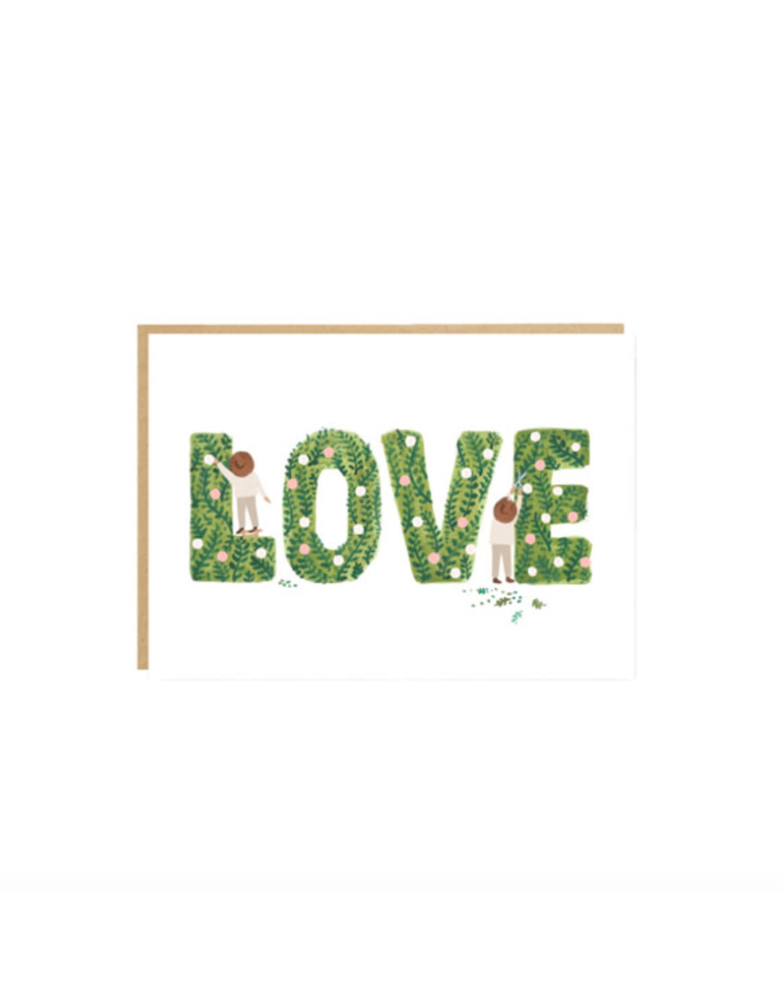 Garden Love Card