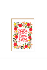 Happily Ever After Wedding Engagement Card