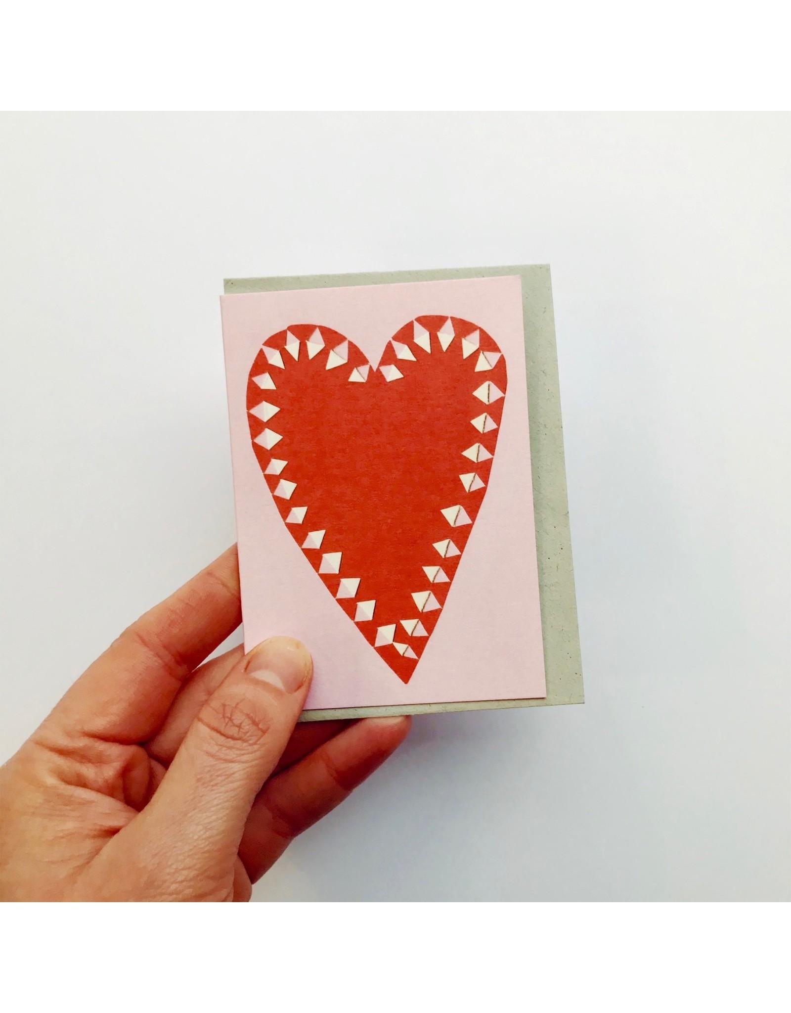 Little Heart card