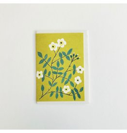 Wild Rose Greetings Card