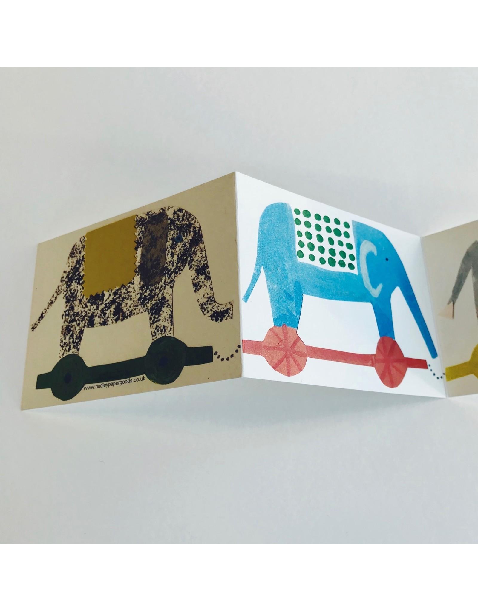 Elephant Fold Out Card