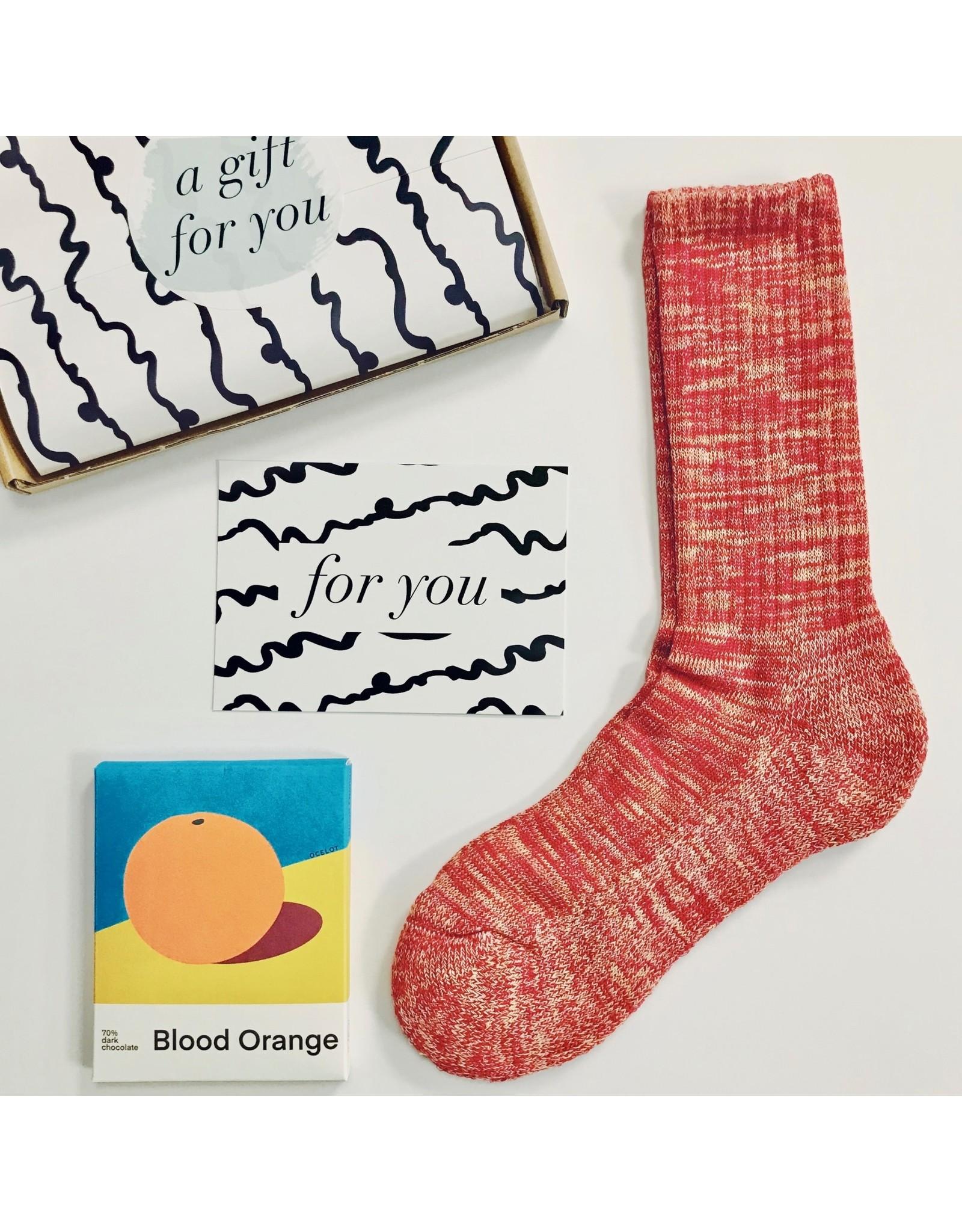Gift Set - Socks & Choc