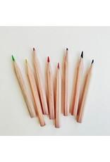 8 Mini Colouring Pencils