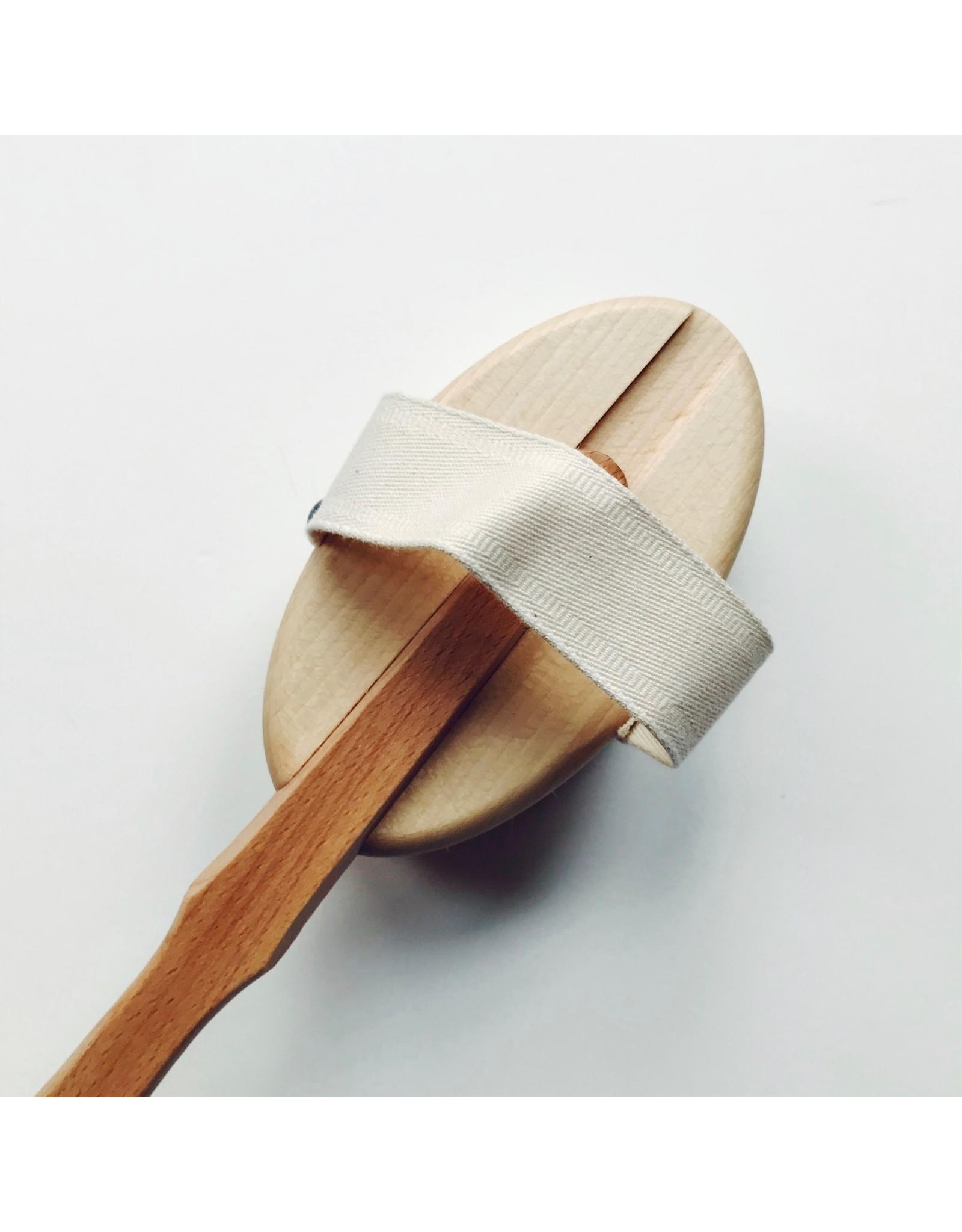 Wooden Body Brush