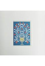I love You Flowers  Card