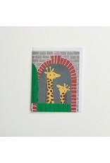 Giraffe House Greeting Card