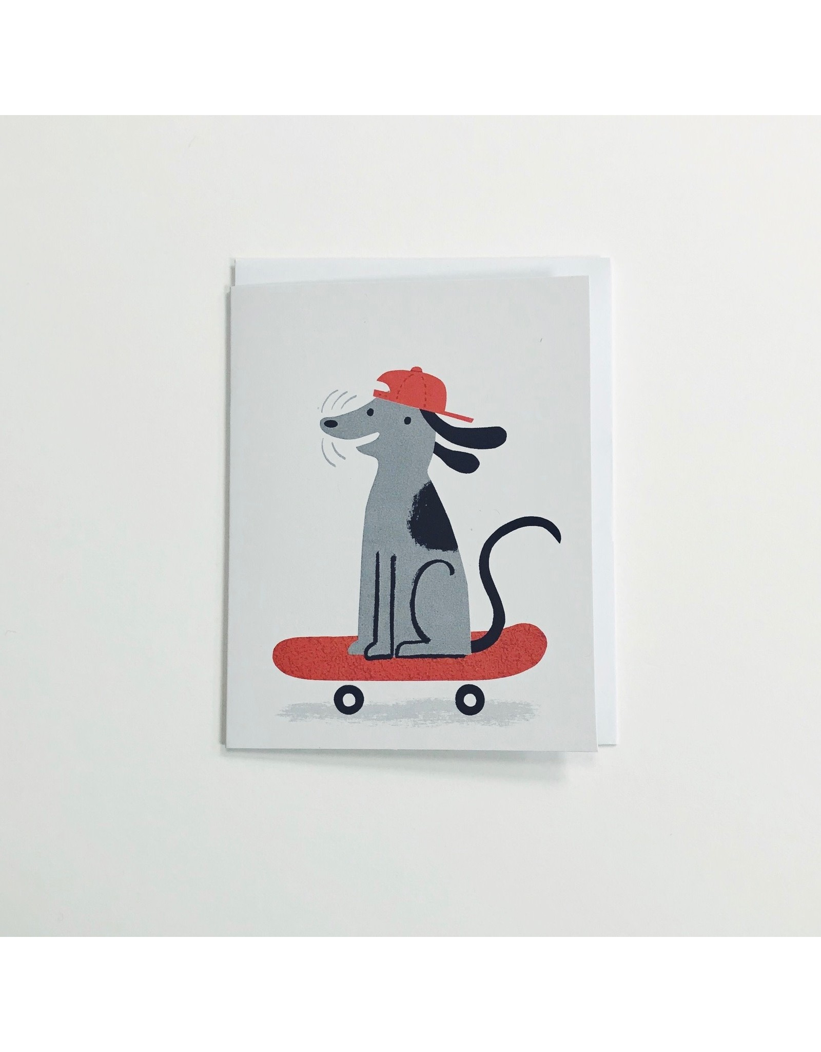 Skateboard Dog