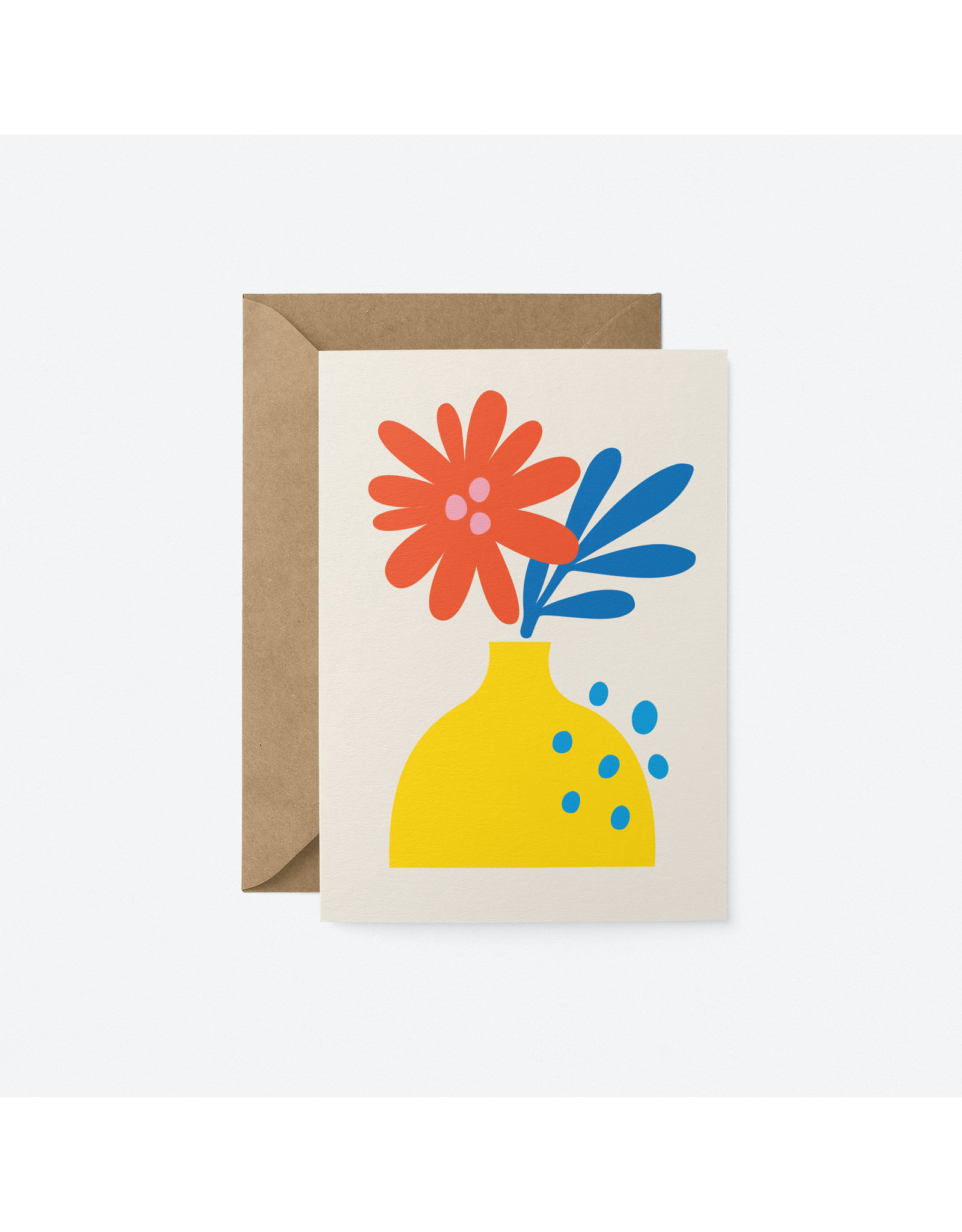 Flower in Vase Card