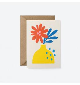 Flower in Vase Card