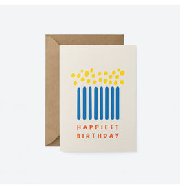 Happiest Birthday Candles Card