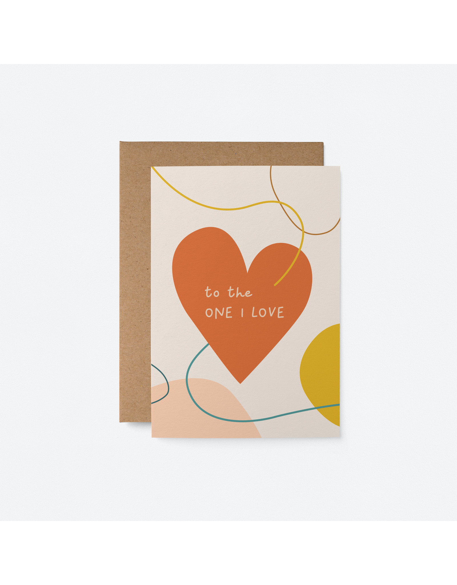 The One I Love Card