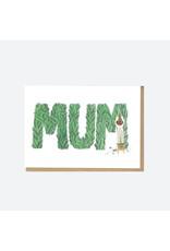 Gardening Mum Greeting Card